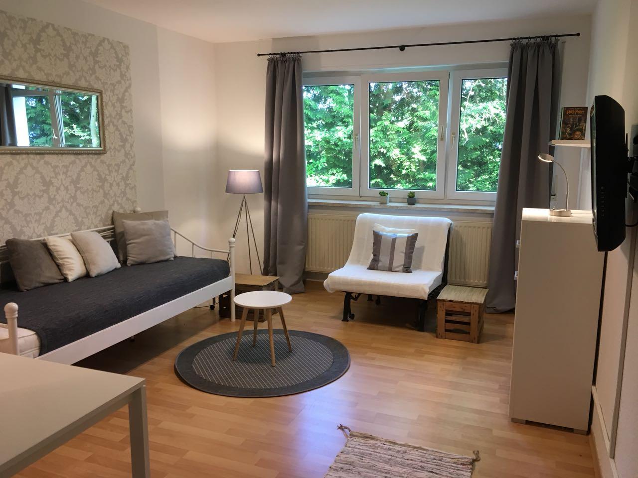 ferienwohnung in saarbr cken g nstig mieten. Black Bedroom Furniture Sets. Home Design Ideas